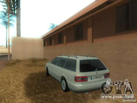 Volkswagen Passat B4 Variant for GTA San Andreas back left view
