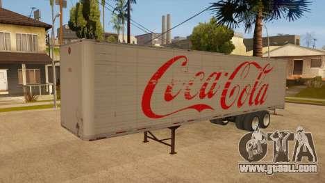 All-metal trailer for GTA San Andreas inner view
