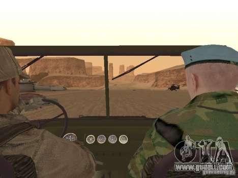 A Soviet Soldier Skin for GTA San Andreas seventh screenshot