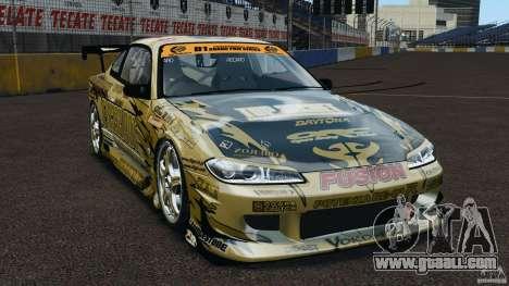 Nissan Silvia S15 D1GP TOP SECRET for GTA 4