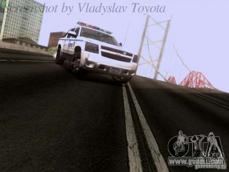 Chevrolet Avalanche 2007 for GTA San Andreas right view