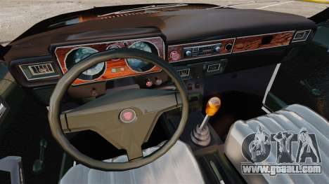 Gaz-3102 FBI for GTA 4 inner view