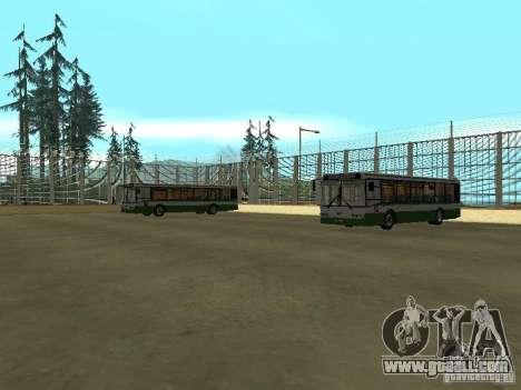 4-th bus v1.0 for GTA San Andreas third screenshot