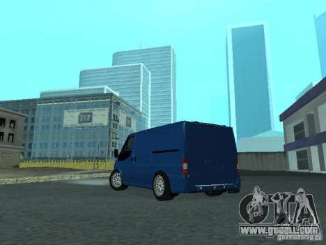 Ford Transit Sport 2011 for GTA San Andreas right view