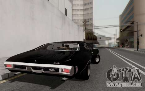 Chevrolet Chevelle SS 454 1970 for GTA San Andreas right view