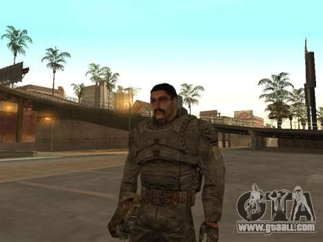 A large Pack of free stalkers for GTA San Andreas eighth screenshot