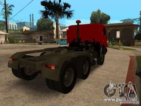 KAMAZ 5410 for GTA San Andreas back left view
