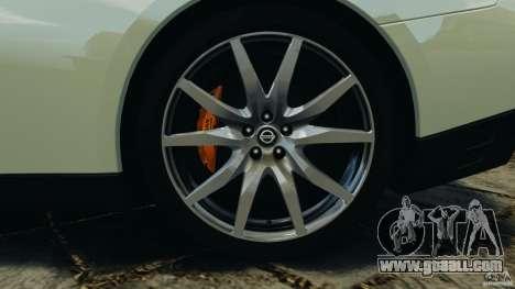 Nissan GT-R 2012 Black Edition for GTA 4 interior