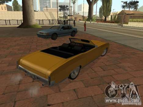 1970 Chevrolet Monte Carlo for GTA San Andreas left view