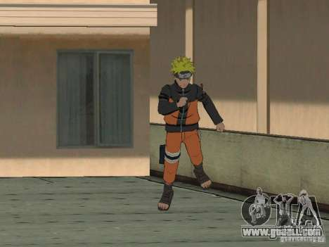 Skin Pack From Naruto for GTA San Andreas forth screenshot