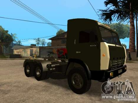KAMAZ 5410 for GTA San Andreas side view