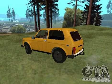 VAZ 21214 Niva for GTA San Andreas back left view