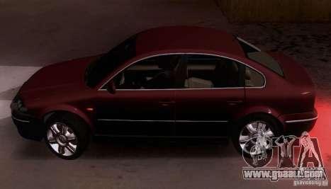 Volkswagen Passat B5+ for GTA San Andreas left view