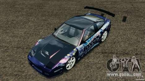 Nissan 240SX Kawabata Drift for GTA 4 interior