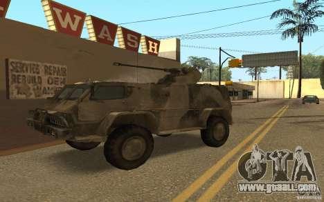 GAS-3937 Vodnik for GTA San Andreas