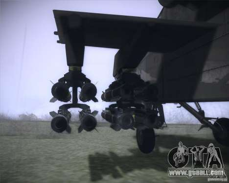 AH-64D Longbow Apache for GTA San Andreas right view
