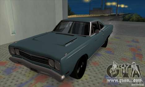Plymouth Roadrunner for GTA San Andreas