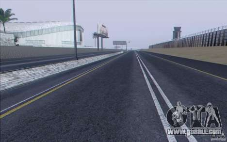 HD Road v3.0 for GTA San Andreas seventh screenshot