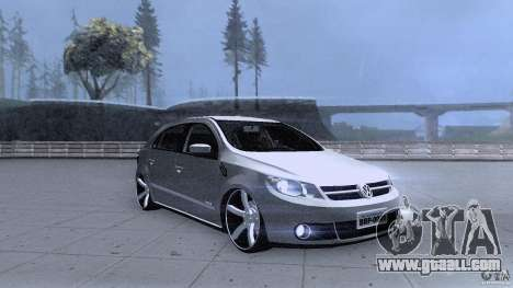 Volkswagen Golf G5 for GTA San Andreas back view