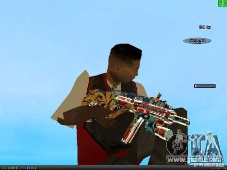 Graffiti Gun Pack for GTA San Andreas third screenshot