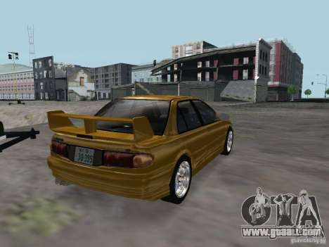 Mitsubishi Lancer Evolution III for GTA San Andreas right view