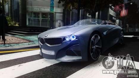 BMW Vision ConnectedDrive Concept 2011 for GTA 4