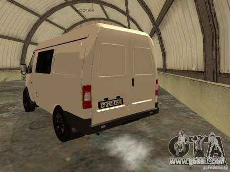 GAZ 2752 Sobol Business for GTA San Andreas back left view