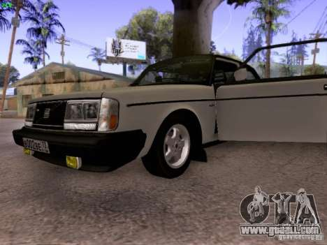 Volvo 242 Turbo for GTA San Andreas back view