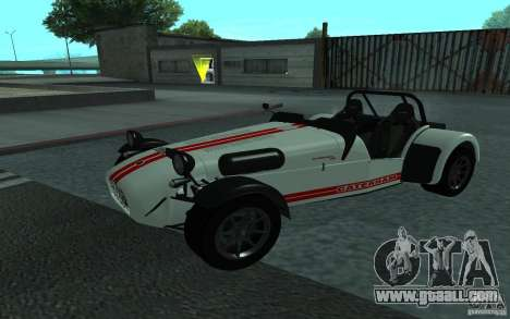 Caterham R500 for GTA San Andreas back view