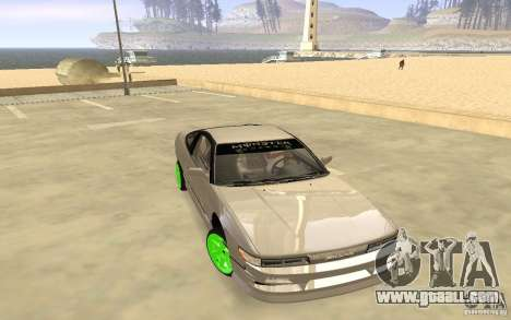 Nissan 200SX Monster Energy for GTA San Andreas left view