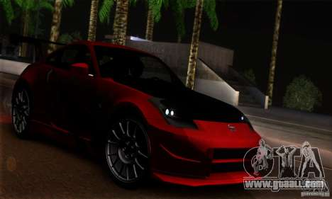 Nissan 350Z Tunable for GTA San Andreas side view