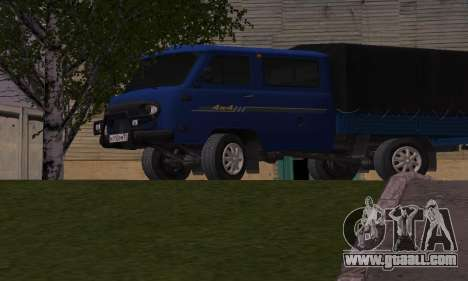 UAZ 39094 Fermer for GTA San Andreas left view