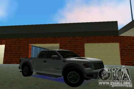 Ford F-150 SVT Raptor for GTA Vice City left view