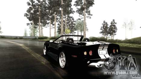 Shelby Series 1 1999 for GTA San Andreas back left view