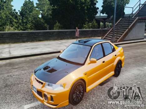 Mitsubishi Lancer Evo VI GSR for GTA 4