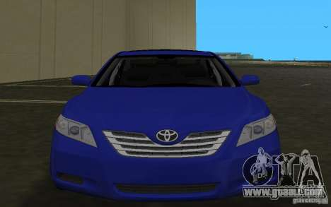 Toyota Camry 2007 for GTA Vice City side view