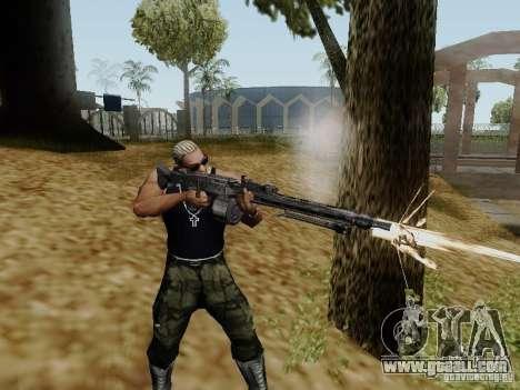 The MG-42 machine gun for GTA San Andreas