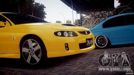 Holden Monaro for GTA 4 back left view