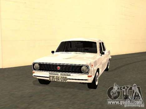 GAZ 24-10 for GTA San Andreas left view