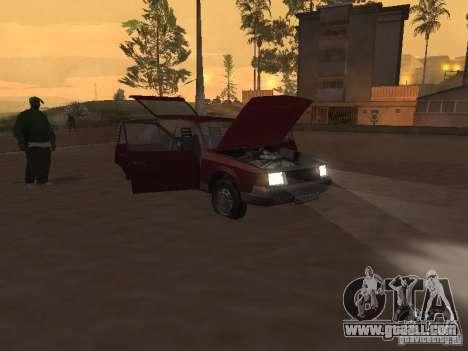 AZLK Moskvich 2141 for GTA San Andreas inner view
