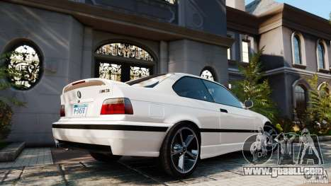 BMW M3 v2.0 for GTA 4 left view