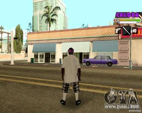 Ballas by R.Cruger for GTA San Andreas third screenshot