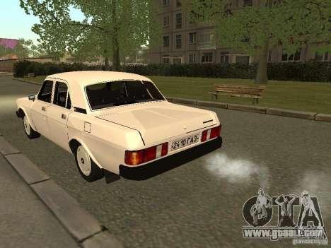 GAZ Volga 31013 for GTA San Andreas right view