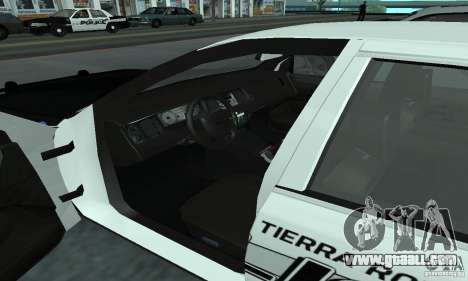 Ford Crown Victoria 2009 Slicktop for GTA San Andreas back left view