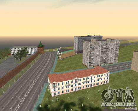 Nižegorodsk v0.1 BETA for GTA San Andreas forth screenshot