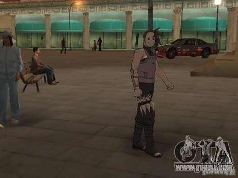 Skin Pack From Naruto for GTA San Andreas second screenshot