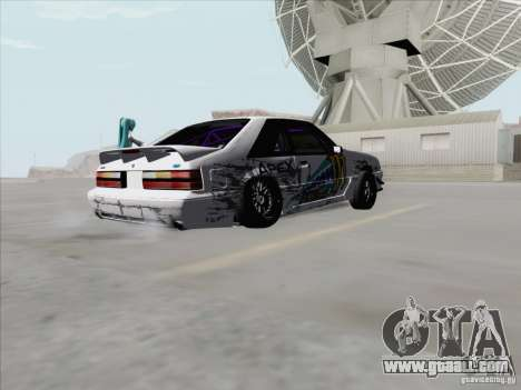 Ford Mustang Drift for GTA San Andreas right view