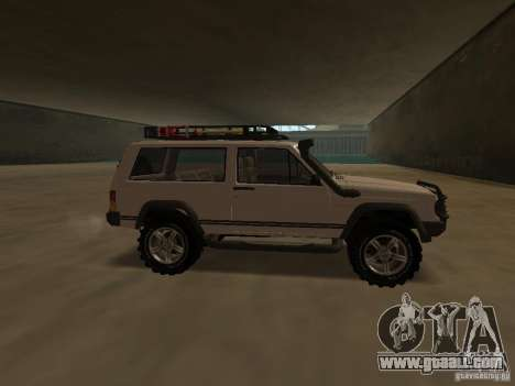 Jeep Cherokee Sport for GTA San Andreas left view