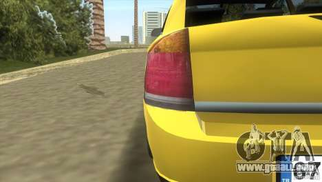 Opel Vectra for GTA Vice City inner view