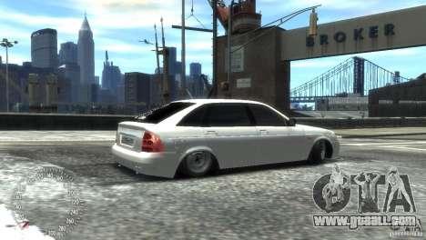 VAZ-2172 Pitbull for GTA 4 back left view